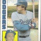 RICK MONDAY 1984 Topps #274.  DODGERS