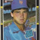 RANDY MYERS 1987 Donruss Rated Rookie #29.  METS