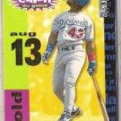 RAUL MONDESI 1995 UD CC Crash / Game Gold Insert #CG14.  DODGERS