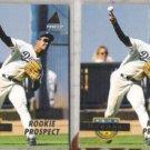 RAUL MONDESI (2) 1994 Pinnacle Prospect #242.  DODGERS