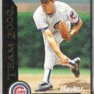 GREG MADDUX 1992 Pinnacle Team 2000 Insert #32 of 80.  CUBS