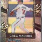 GREG MADDUX 2000 Topps Chrome All Topps Team Insert.  BRAVES