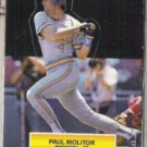 PAUL MOLITOR 1988 Leaf AS Pop Up Odd.  BREWERS