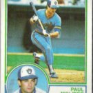 PAUL MOLITOR 1983 Topps #630.  BREWERS