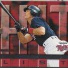 PAUL MOLITOR 1997 Donruss Hit List #417.  TWINS