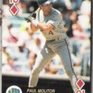 PAUL MOLITOR 1992 Baseball Aces 10-Diamonds.  BREWERS