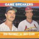 DON MATTINGLY 1988 Score Game Breakers #650.  YANKEES