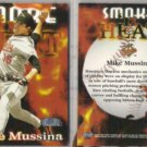 MIKE MUSSINA (2) 1998 Fleer Smoke / Heat #307.  ORIOLES