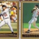 MIKE MUSSINA 1998 + 1999 Topps.  ORIOLES
