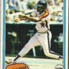 JOE MORGAN 1981 Topps #560.  ASTROS
