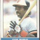 EDDIE MURRAY 1987 Fleer Record Setters #24 of 44.  ORIOLES