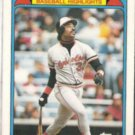 EDDIE MURRAY 1988 Topps Woolworth #5 of 33.  ORIOLES