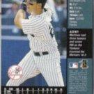 TINO MARTINEZ 1998 Upper Deck Griffey Jr. Hot List #12.  YANKEES