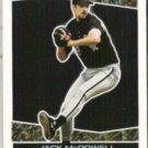 JACK McDOWELL 1993 Topps Black Gold Insert.  WHITE SOX