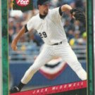 JACK McDOWELL 1994 Post Cereal Insert #7 of 30.  WHITE SOX
