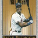 FRED McGRIFF 1996 Upper Deck Predictor #R35.  BRAVES