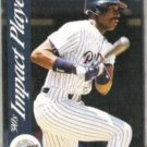 FRED McGRIFF 1992 Score Impact Player #56.  PADRES
