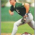 MARK McGWIRE 1992 Stadium Club #475.  A's