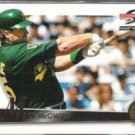 MARK McGWIRE 1995 Pinnacle Summit #27.  A's