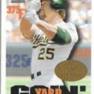 MARK McGWIRE 1997 Pinnacle Hobby Reserve #511.  A's