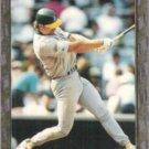 MARK McGWIRE 1992 Bowman Foil Insert #620.  A's