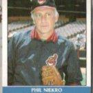PHIL NIEKRO 1987 Fleer Record Setters #25 of 44.  INDIANS