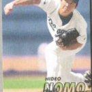 HIDEO NOMO 1997 Fleer #368.  DODGERS