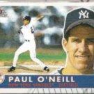 PAUL O'NEILL 2001 Fleer Tradition #339.  YANKEES