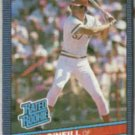 PAUL O'NEILL 1986 Donruss Rated Rookie #37.  REDS