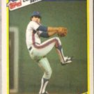 BOB OJEDA 1987 Topps Highlights Odd #24 of 33.  METS