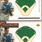 MIKE PIAZZA 1994 UD Electric Diamond Insert w/ sister.  DODGERS