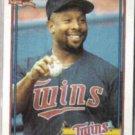 KIRBY PUCKETT 1991 Topps #300.  TWINS