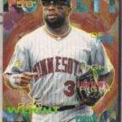 KIRBY PUCKETT 1995 Fleer #212.  TWINS