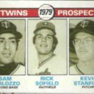 SAM PERLOZZO 1979 Topps Twins Prospects #709.  TWINS