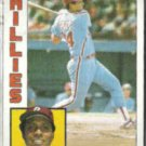 TONY PEREZ 1984 Topps #385.  PHILLIES