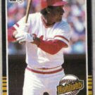 TONY PEREZ 1985 Donruss HL #9.  REDS