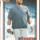 DAVE PARKER 1991 Topps Traded #89T.  ANGELS