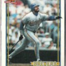 DAVE PARKER 1991 Topps #235.  BREWERS