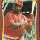 DAVE PARKER 1986 Fleer Star Sticker #84.  REDS