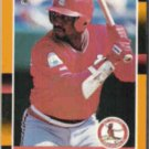 TERRY PENDLETON 1988 Donruss Best #187.  CARDS