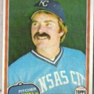 DAN QUISENBERRY 1981 Topps #493.  ROYALS