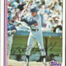 BILL RUSSELL 1982 Topps #279.  DODGERS