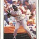 TIM RAINES 1991 Premier #97.  WHITE SOX