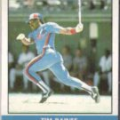 TIM RAINES 1987 Fleer Record Setters #30 of 44.  EXPOS