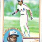 TIM RAINES 1983 Topps #595.  EXPOS