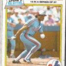 TIM RAINES 1986 Drakes Yodels PB Squares #15.  EXPOS