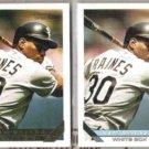 TIM RAINES 1993 Topps GOLD Insert w/ sister.  WHITE SOX