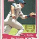 ALEX RODRIGUEZ 2004 Fleer Tradition #465.  RANGERS