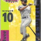 ALEX RODRIGUEZ UD 1995 Crash the Game Silver Insert .  MARINERS