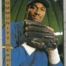 HAROLD REYNOLDS 1993 UD Community Heroes #35.  MARINERS
